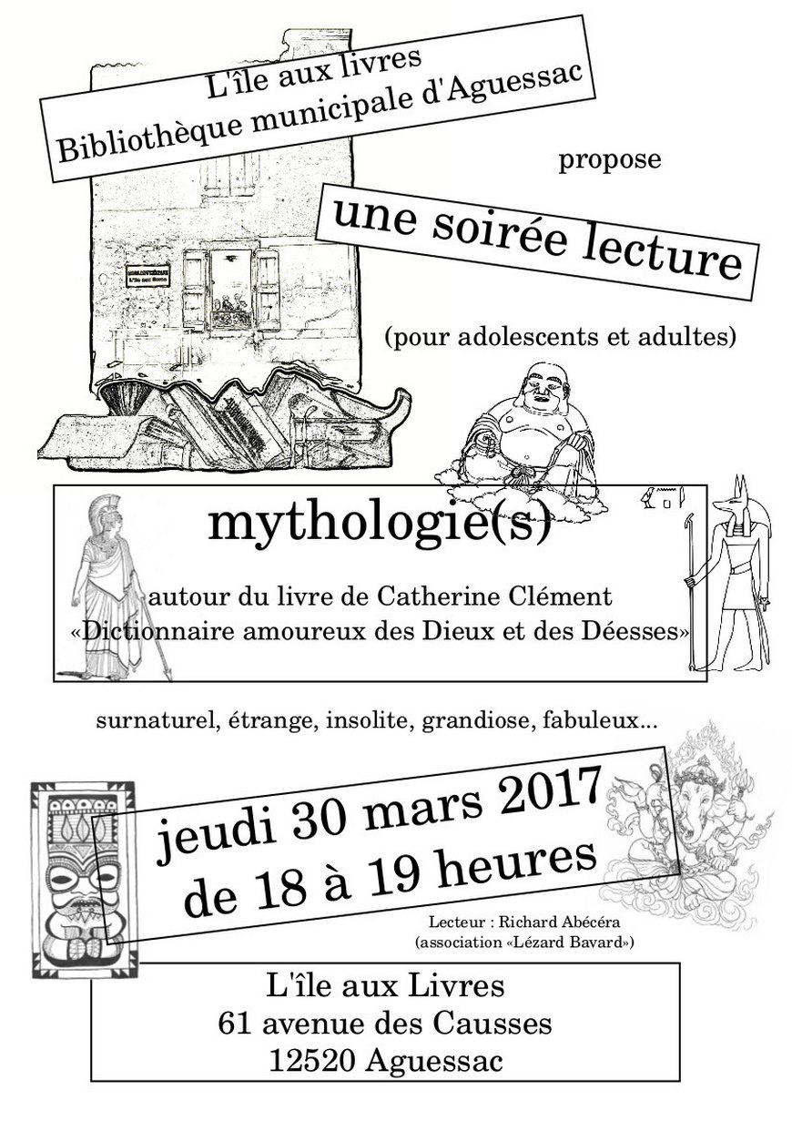 aguessac soiree lecture mythologie