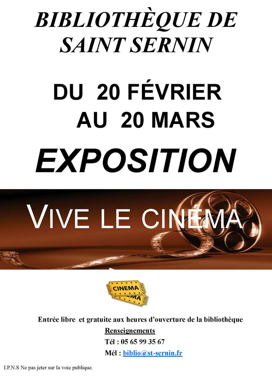 st sernin sur rance expo cinema